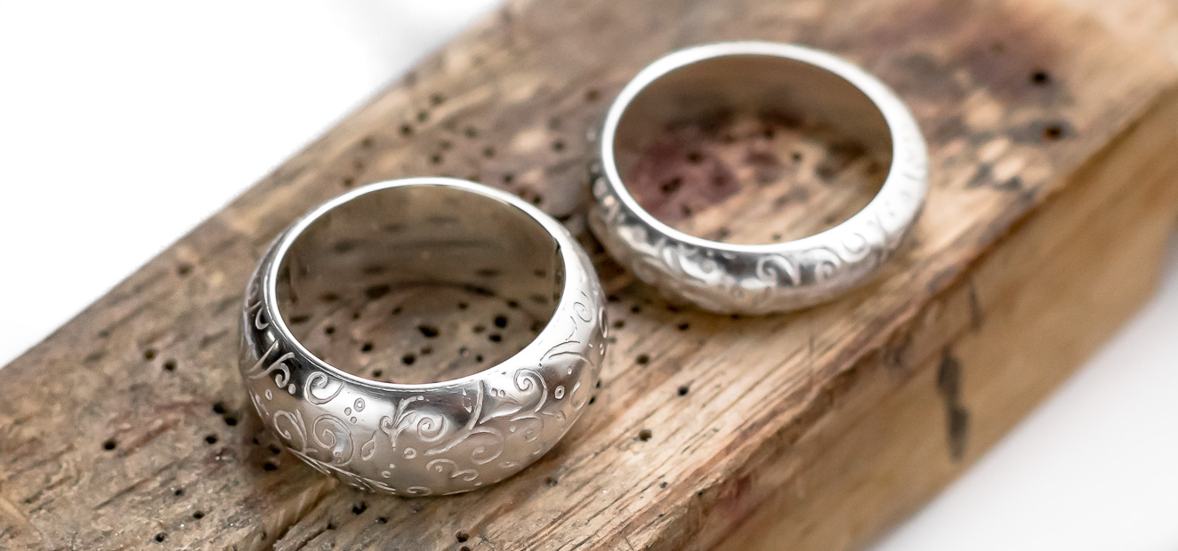 rings from making hollow forms course